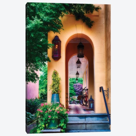 Charleston Charm V Canvas Print #GOZ31} by George Oze Canvas Artwork