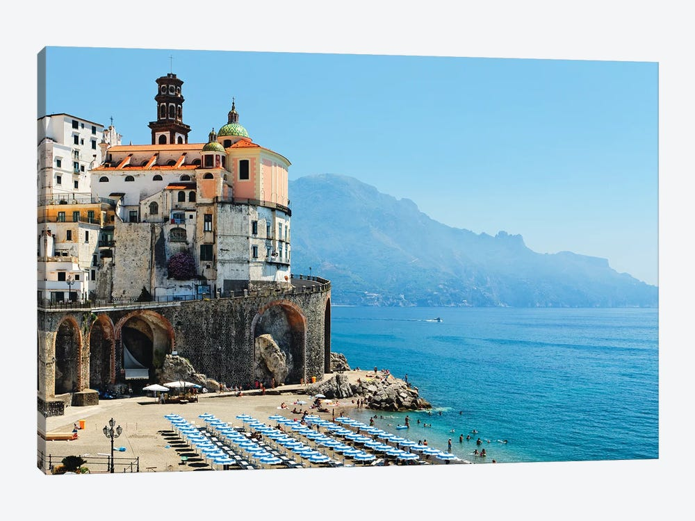 Atrani Beach, Amalfi Coat, Italy by George Oze 1-piece Canvas Wall Art