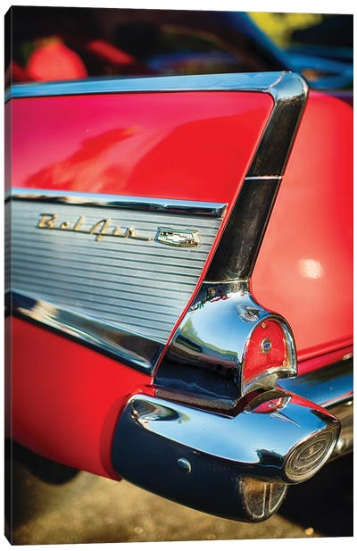Chevy Bel Air Tail Fin  Canvas Art Print
