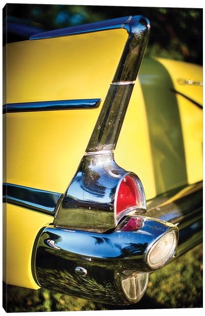Classic Chevrolet Automobile Tail Fin Canvas Art Print