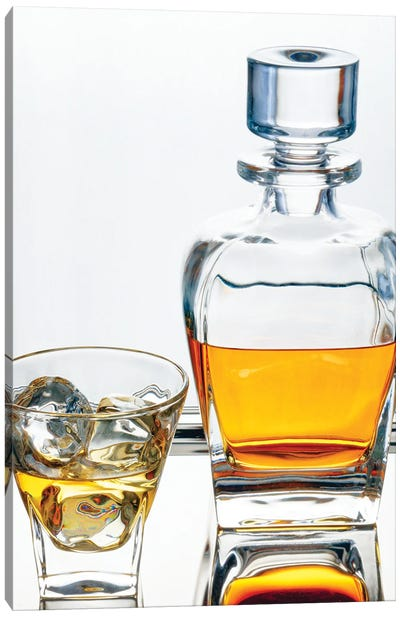 Perfectly Aged Scotch Whiskey  Canvas Art Print