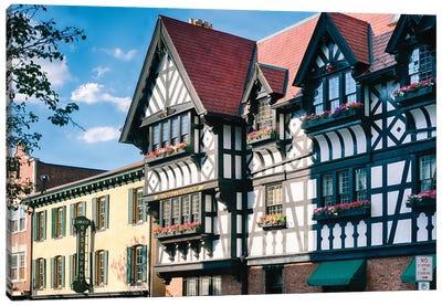European Atmosphere Of Princeton Canvas Art Print