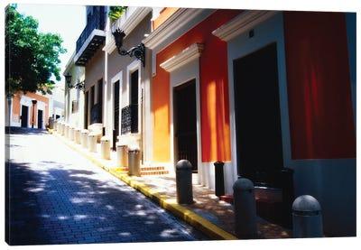 Calle De Sol, Old San Juan, Puerto Rico Canvas Art Print