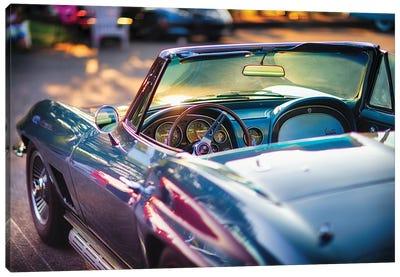 Classic Corvette Ready For A Cruise Canvas Art Print