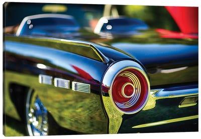 Tail Light Detail Of A 1962 Ford Thunderbird Canvas Art Print