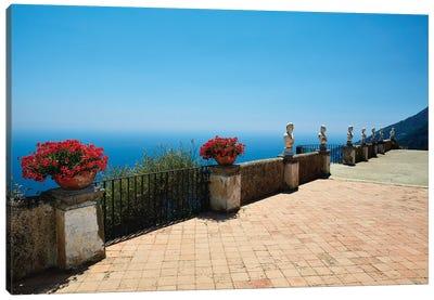Terrace Of Infinity, Ravello, Italy Canvas Art Print