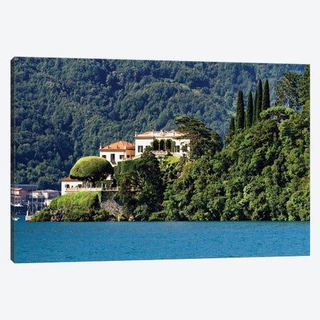 Villa Balbianello, Lenno Como, Lake Como, Lombardy, Italy Canvas Print #GOZ485} by George Oze Canvas Art