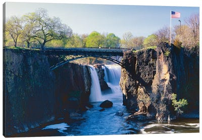 Great Falls of Passaic River, Paterson, New Jersey Canvas Art Print