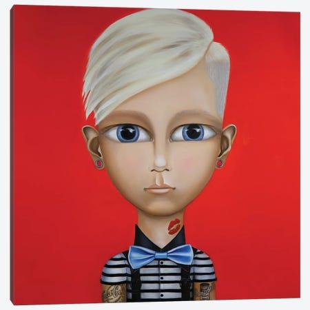 Andy Warhol Canvas Print #GPA1} by Gina Palmerin Art Print
