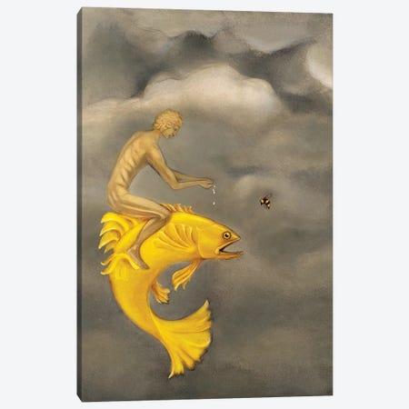 Poseidon Canvas Print #GPA20} by Gina Palmerin Art Print