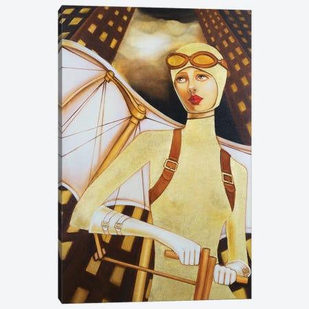 The Guardian Canvas Print #GPA24} by Gina Palmerin Canvas Art