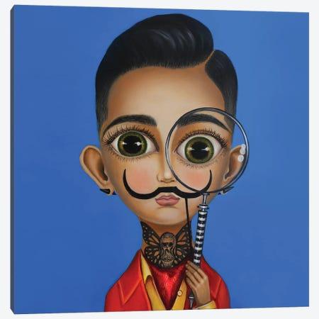 Salvador Dali II Canvas Print #GPA31} by Gina Palmerin Canvas Artwork