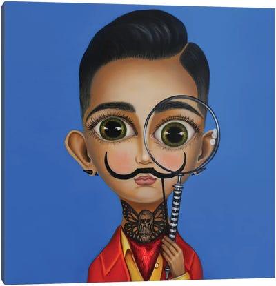 Salvador Dali II Canvas Art Print