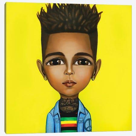 Bob Marley Canvas Print #GPA32} by Gina Palmerin Canvas Art