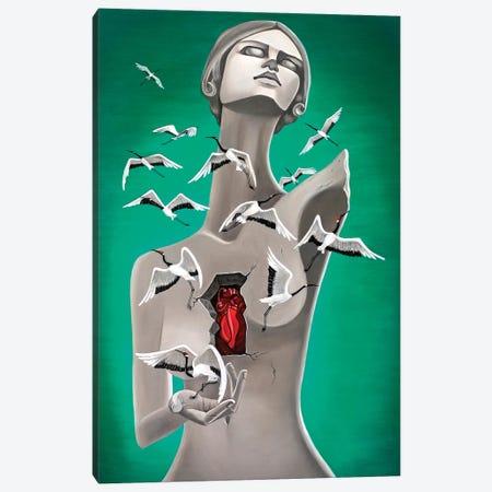 Forgiveness Canvas Print #GPA7} by Gina Palmerin Canvas Artwork
