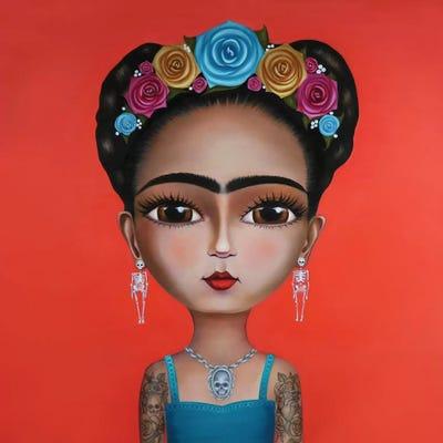 Canvas Ruben Ireland Frida Khalo Art Print Poster