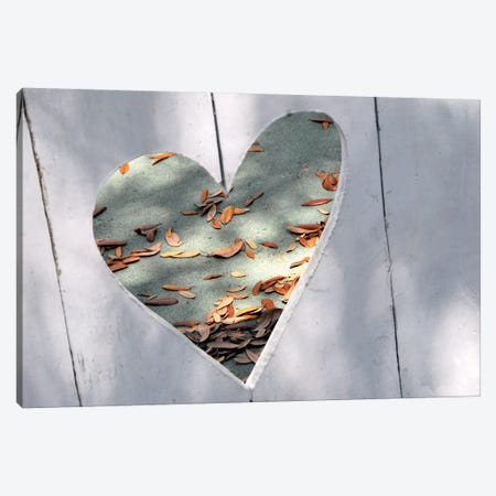 Heart Full of Love Canvas Print #GPE10} by Gail Peck Canvas Wall Art