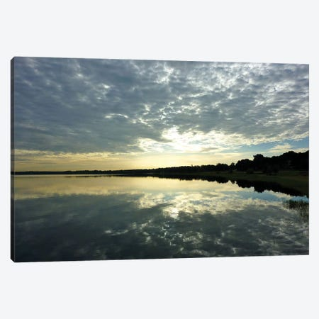 Reflections of the Sky Canvas Print #GPE20} by Gail Peck Canvas Art Print