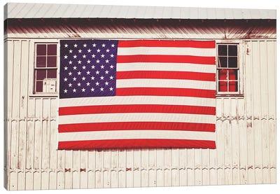 American Barn Canvas Art Print