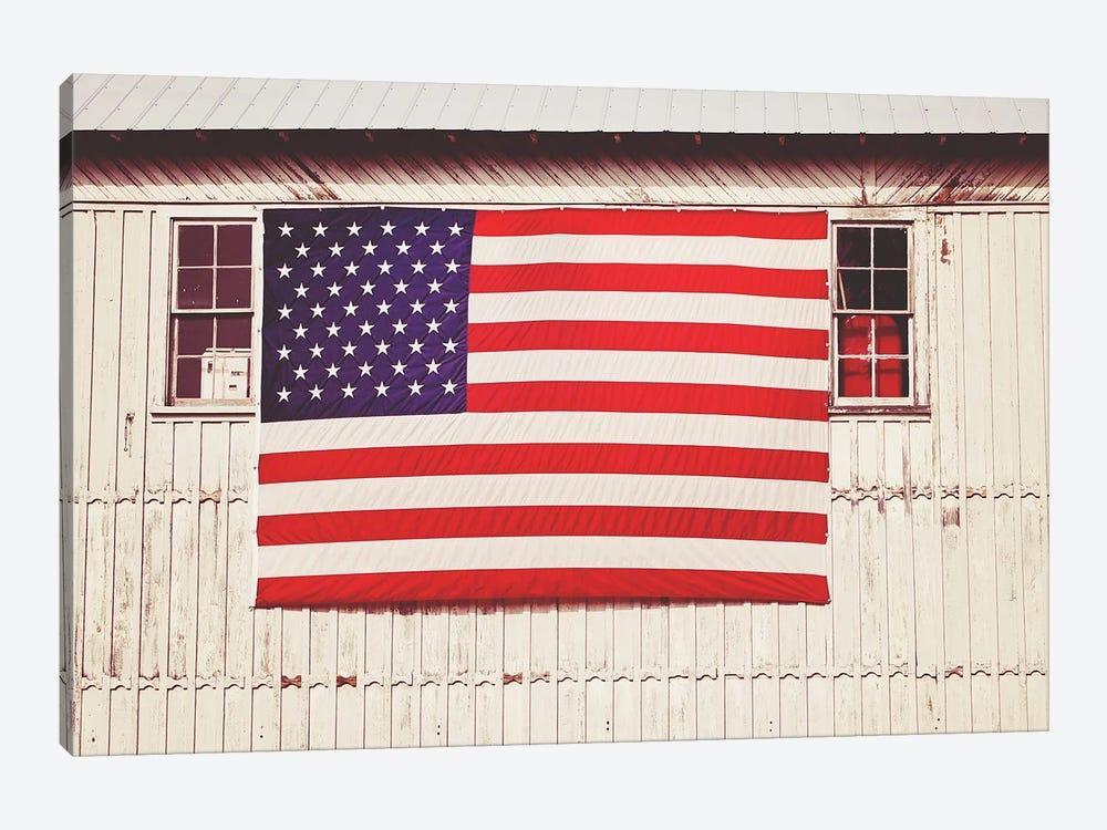 American Barn by Gail Peck 1-piece Canvas Wall Art