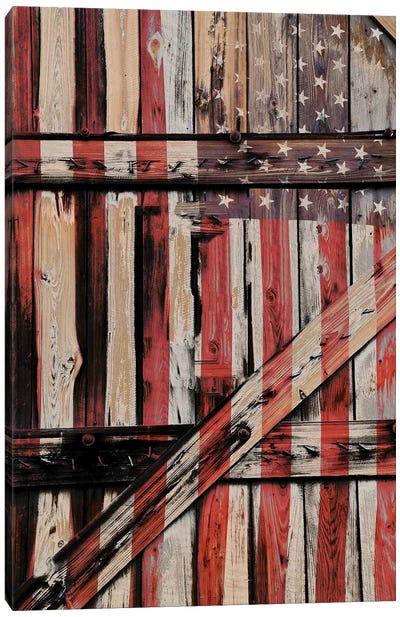 All American Fence Canvas Art Print