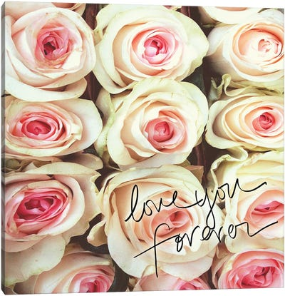Love You Forever Canvas Art Print