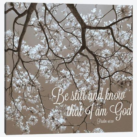 Be Still Canvas Print #GPE3} by Gail Peck Canvas Art Print