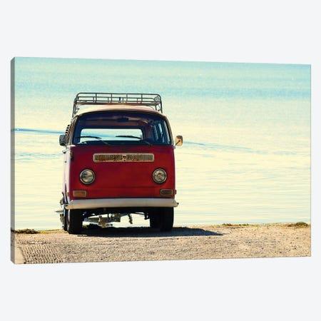 Beach Ride Canvas Print #GPE6} by Gail Peck Canvas Art