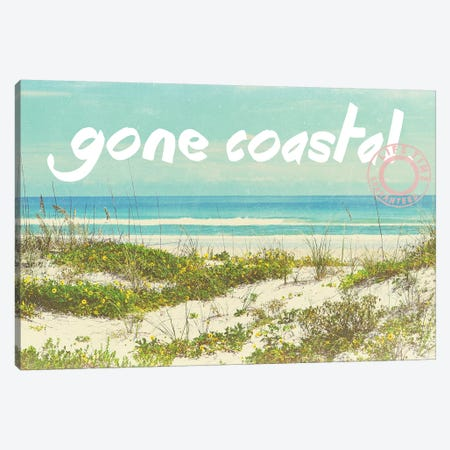 Gone Coastal Canvas Print #GPE9} by Gail Peck Canvas Print