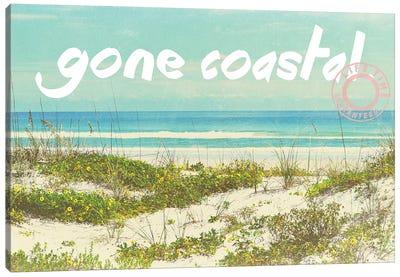 Gone Coastal Canvas Art Print