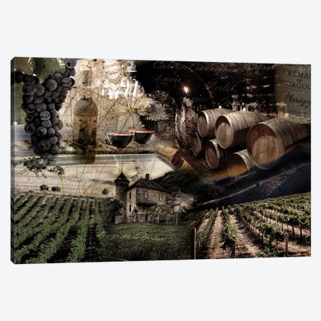 Wine Canvas Print #GPH101} by GraphINC Canvas Art Print