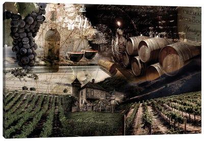 Wine Canvas Art Print