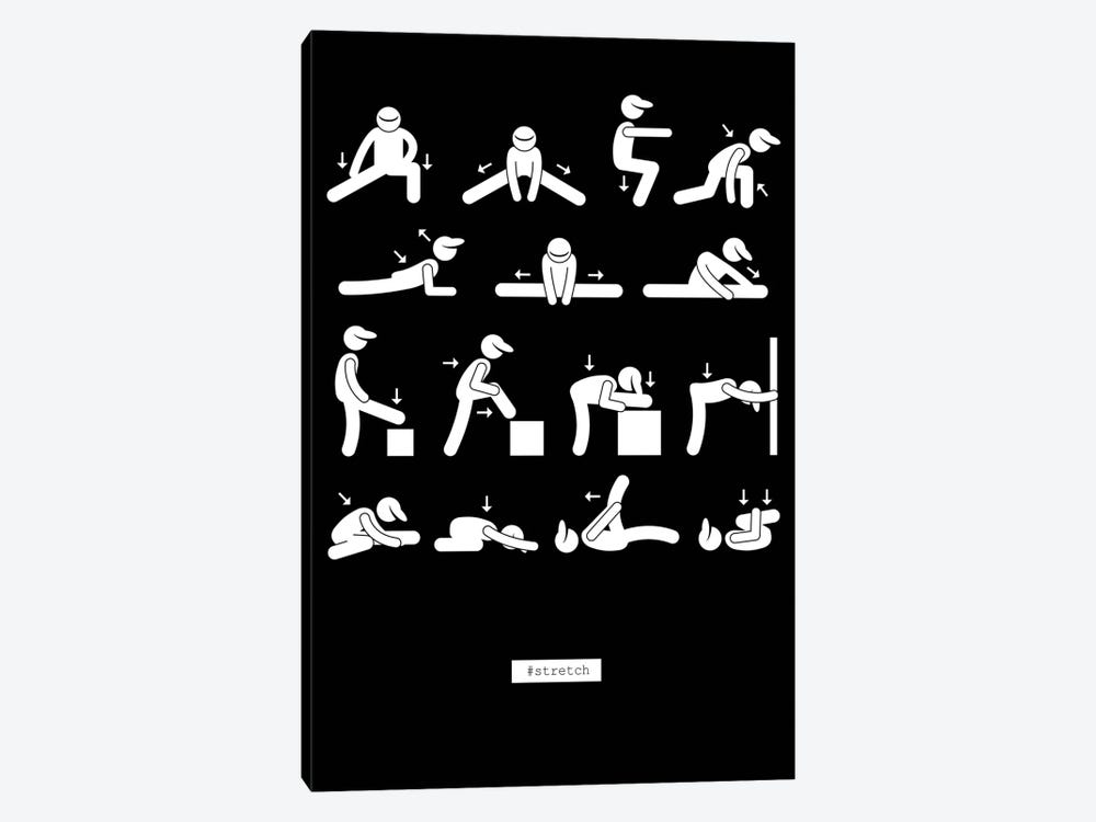 Workout by GraphINC 1-piece Canvas Artwork