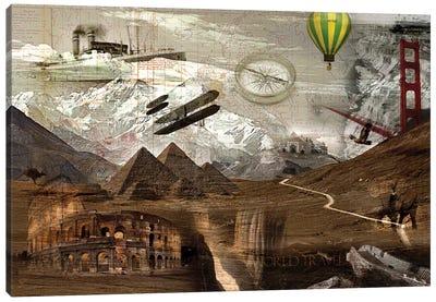 World Travel Canvas Art Print