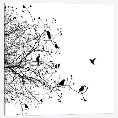 Birds I Canvas Print #GPH12} by GraphINC Canvas Art Print
