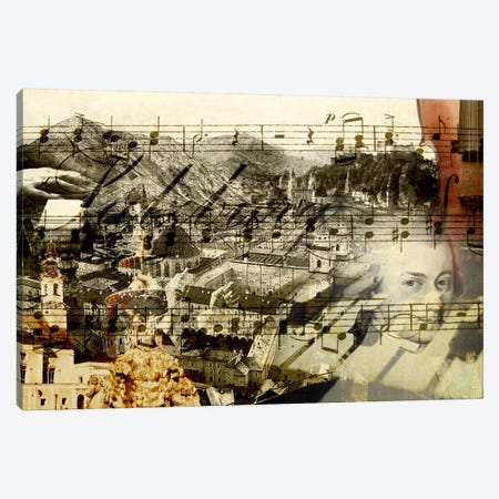Classical Music Canvas Print #GPH15} by GraphINC Canvas Art