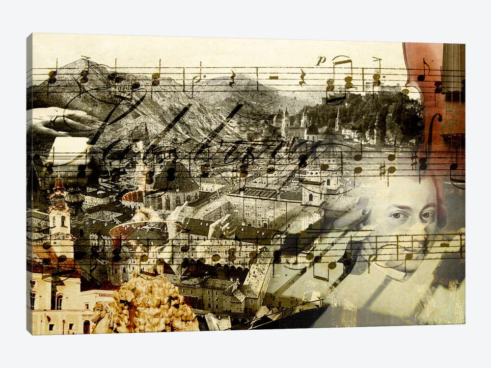 Classical Music by GraphINC 1-piece Canvas Art