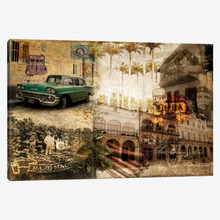 Cuba Canvas Print #GPH20} by GraphINC Canvas Artwork