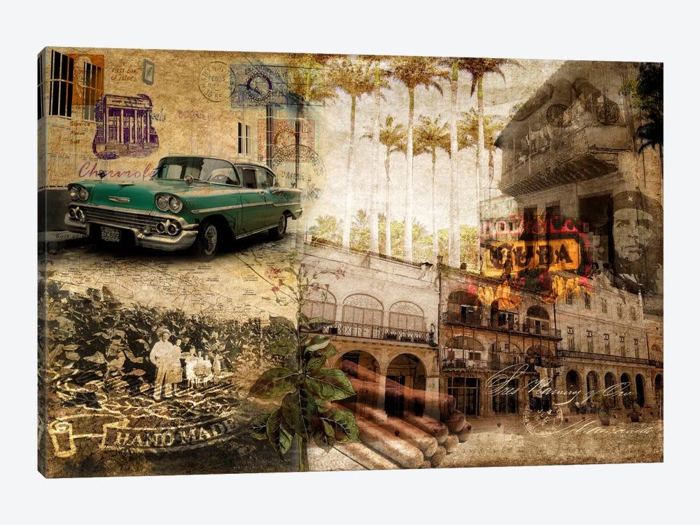 Cuba by GraphINC 1-piece Canvas Art