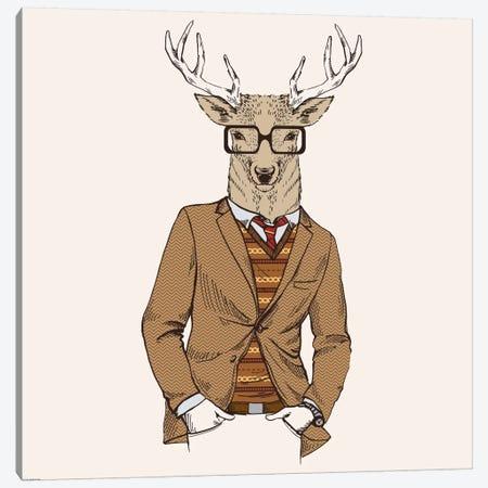 Deer-Man I Canvas Print #GPH27} by GraphINC Canvas Print