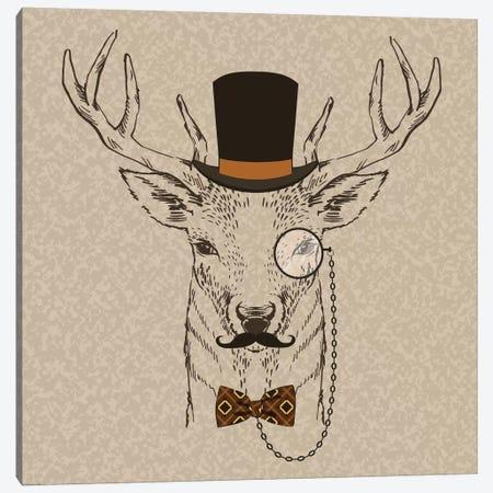 Deer-Man II Canvas Print #GPH28} by GraphINC Canvas Wall Art