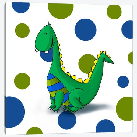 Dragon Canvas Print #GPH30} by GraphINC Canvas Art Print