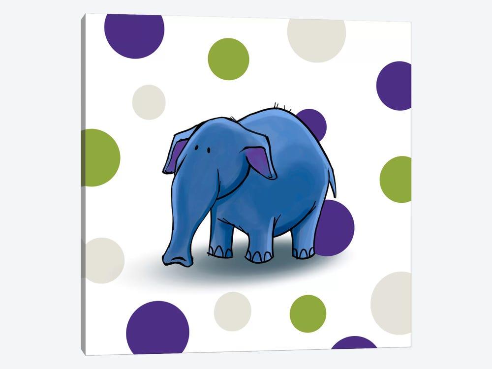 Elephant I by GraphINC 1-piece Canvas Print