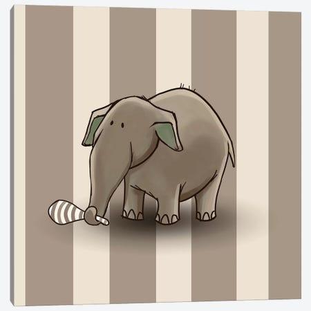Elephant II Canvas Print #GPH33} by GraphINC Canvas Art Print
