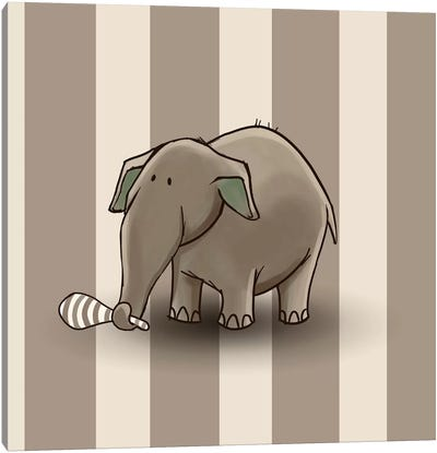 Elephant II Canvas Print #GPH33