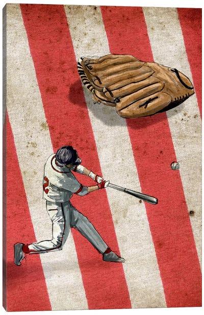 American Sports: Baseball II Canvas Art Print