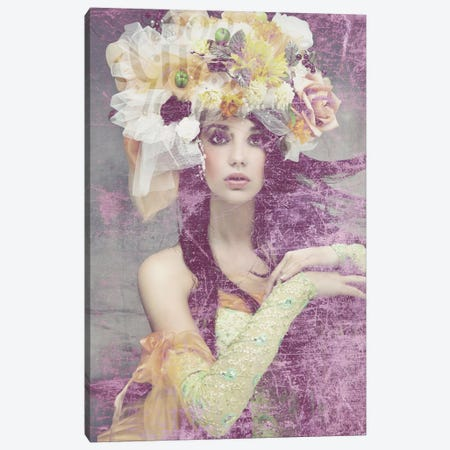 Flower Lady Canvas Print #GPH41} by GraphINC Canvas Art