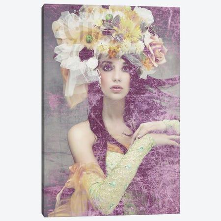 Flower Lady Canvas Print #GPH41} by GraphINC Canvas Art