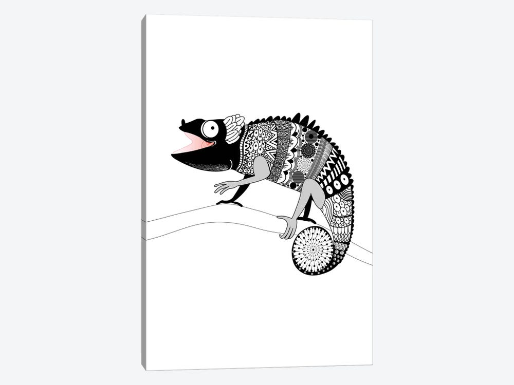 Gecko by GraphINC 1-piece Art Print