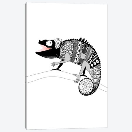Gecko Canvas Print #GPH43} by GraphINC Canvas Wall Art